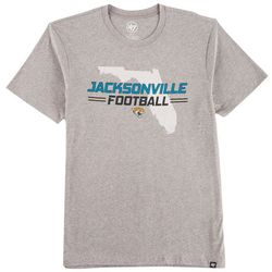 Jaguars Mens Florida Heathered T-Shirt by 47 Brand 39c6dd45d