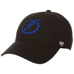 Tampa Bay Lightning Mens MVP Logo Hat by 47 Brand