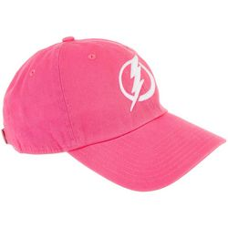 Tampa Bay Lightning Mens Clean Up Logo Hat by 47 Brand