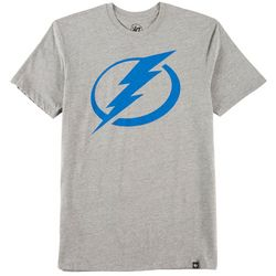 Tampa Bay Lightning Mens Imprint Logo T-Shirt by 47 Brand