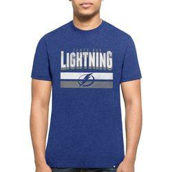 Tampa Bay Lightning Mens Club T-Shirt by 47 Brand