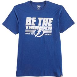 Tampa Bay Lightning Mens Club T-Shirt by 47 Brand