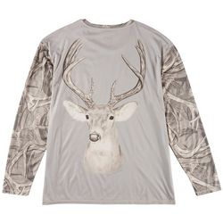 Southern Legends Mens Southern-Tec 8 Point Buck T-Shirt