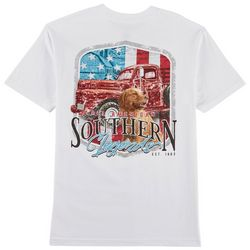 Southern Legends Mens American Pick Up Dog T-Shirt