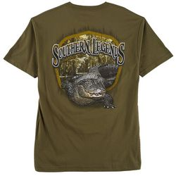 Southern Legends Mens Gator Bayou T-Shirt