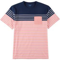 Tackle & Tides Mens Stripe Short Sleeve T-Shirt