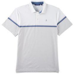 Tackle & Tides Mens Yarn Dyed Short Sleeve Polo Shirt