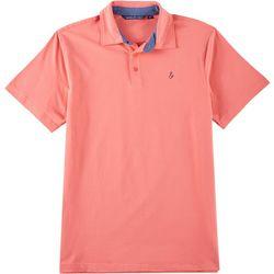 Tackle & Tides Mens Short Sleeve Solid Polo Shirt