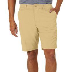 Tackle & Tides Mens Solid Front Zip Shorts