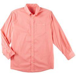 Tackle & Tides Mens Solid Long Sleeve Shirt
