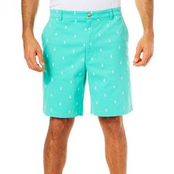 Tackle & Tides Mens Pineapple Cell Pocket Shorts