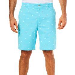 Tackle & Tides Mens Shark Cell Pocket Shorts