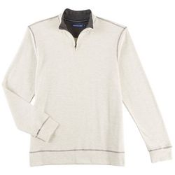 Tackle & Tides Mens Quarter Zip Pullover Sweater