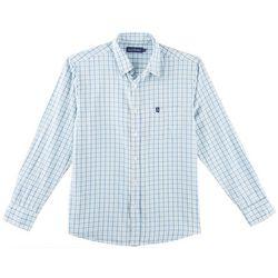 Tackle & Tides Mens Plaid Print Long Sleeve Shirt