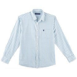 Tackle & Tides Mens Plaid Print Long Sleeve Shirt