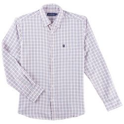Tackle & Tides Mens Plaid Long Sleeve Shirt