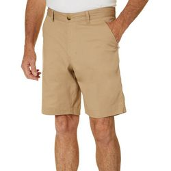 Tackle & Tides Mens Solid Poplin Pocket Shorts