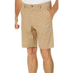 Tackle & Tides Mens Anchor Print Shorts