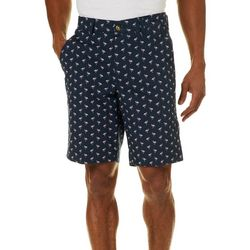 Tackle & Tides Mens Flamingo Print Shorts