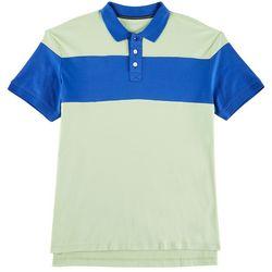 Tackle & Tides Mens Colorblocked Polo Shirt