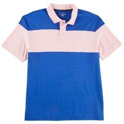 Tackle & Tides Mens Colorblock Polo Shirt