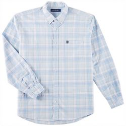 Tackle & Tides Mens Stretch Oxford Glen Long Sleeve Shirt