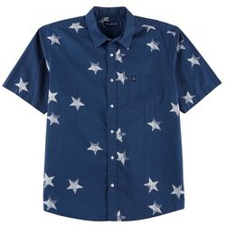 Tackle & Tides Mens Poplin Large Stars Shirt