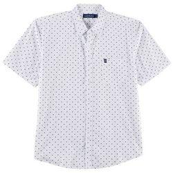 Tackle & Tides Mens Poplin Small Stars Shirt