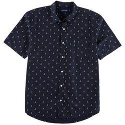 Tackle & Tides Mens Poplin Anchor Shirt