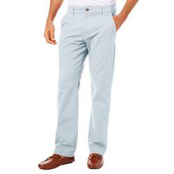 Tackle & Tides Mens Stretch Flat Front Pants