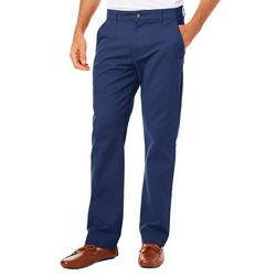 Tackle & Tides Mens Stretch Flat Front Pants