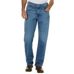 Wrangler Mens Comfort Flex Denim Regular Fit Jeans