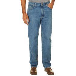 Wrangler Mens Premium Denim Relaxed Fit Jeans