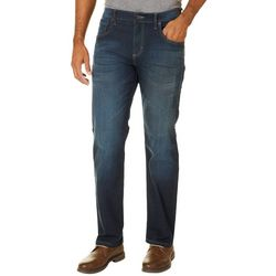 Wrangler Mens 4-Way Flex Straight  Fit Jeans