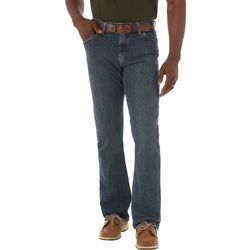 Wrangler Mens Straight Fit Comfort Flex Jeans