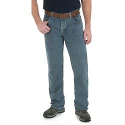 Wrangler Mens Big & Tall Straight Jeans