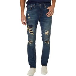 Levi's Mens 511 Slim Fit Distressed Stretch Jeans