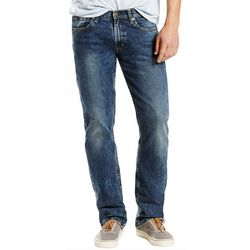 Levi's Mens 514 Straight Fit Faded Jeans