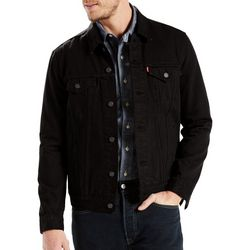 Levi's Mens Trucker Solid Jean Jacket