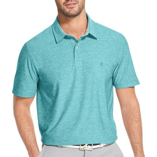 7a70831c0 IZOD Golf Mens Swingflex Title Holder Performance Polo Shirt ...