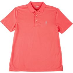 IZOD Golf Mens Champion Grid Polo Shirt