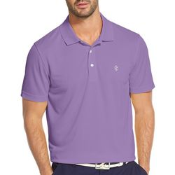 IZOD Golf Mens Champion Performance Grid Polo Shirt