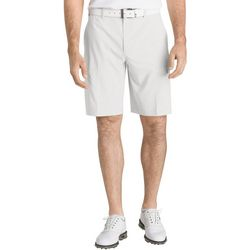 IZOD Golf Mens Swingflex Solid Cargo Shorts