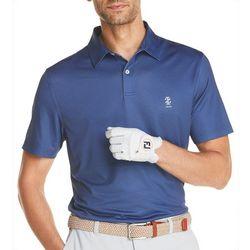 IZOD Golf Mens Ditzy Short Sleeve Polo Shirt