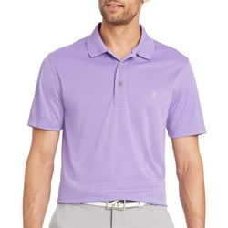 IZOD Golf Mens Grid Polo Shirt
