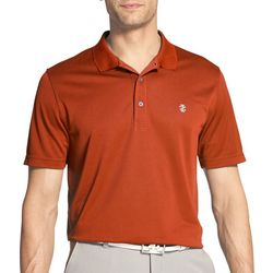 IZOD Golf Mens Swingflex Champion Grid Polo Shirt