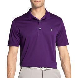 IZOD Golf Mens Swingflex Champion Grid Polo Shirt