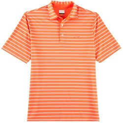Greg Norman Collection Mens Freeline Stripe Polo Shirt