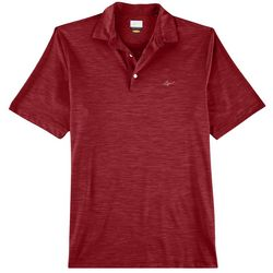 Greg Norman Collection Mens Space Dye Stretch Polo Shirt