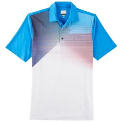 Greg Norman Collection Mens Colorblock Polo Shirt